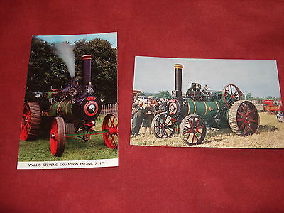 VINTAGE TRANSPORT: X2 Wallis Stevens expansion engine colour