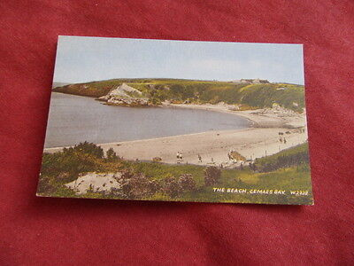 VINTAGE WALES: ANGLESEY CEMAES BAY beach colour tint
