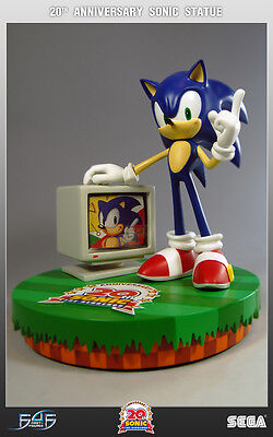 Sonic the Hedgehog 20th Anniversary First 4 Figures F4F Limited Statue 508