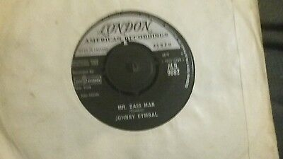 Johnny Cymbal Mr.bass Man London Records Very Good Plus