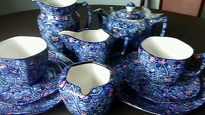 10 pieces of replica maling chintz ware