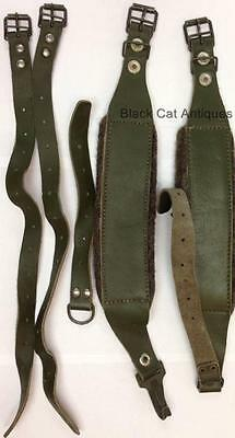 STRAPS For Vintage LAFUMA French Army Back Pack External Frame Olive Drab Green