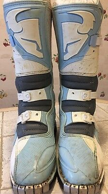 THOR Quadrant Womens Motorcycle MX / Moto Cross Boots Womens Size 8