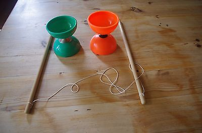 Juggling: 2 Diabolos and Pair Sticks