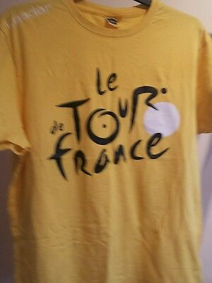 Tour de France Official T Shirt Large