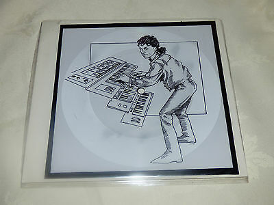 Dave Slinger: Rockabye Baby, 1990 Square Picture Disc Azra Records (1)
