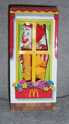 McDonald's Ronald McDonald House Finger Puppet - 2003 - New In Box