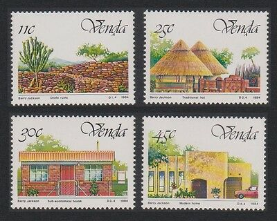 Venda 5th Anniversary of Independence 4v SG#99/102 SC#112-15