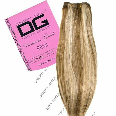"Dream Girl 45,72 cm (18"") colori, 6/1001 Remi Weft Hair extension"