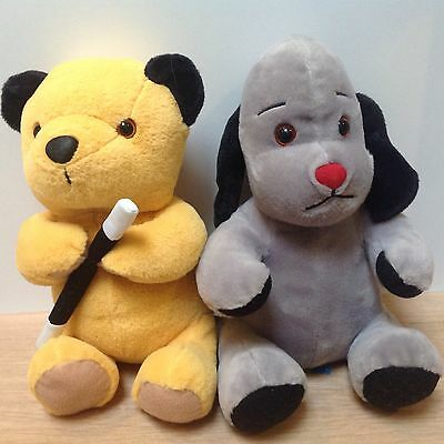 Sooty & Sweep Plush Toys - Approx 10""