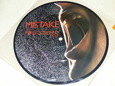 """Mike Oldfield: Mistake, 7"""" Picture Disc 1982)"""