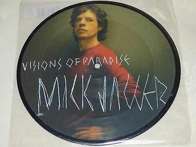 """Mick Jagger: Visions Of Paradise, 7"""" Picture Disc Single 2002"""
