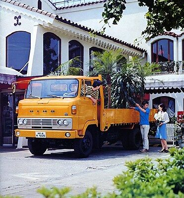 1978 Hino Forward Control Model KM 4x2 8-9 Ton Truck Factory Photo ca6108