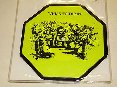 """Whisky Train: Gun For Hire, 7"""" Shaped Picture Disc Single 1994 Tour Edition"""
