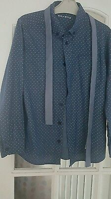 Boys smart shirt & tie...age 10 -11 years ... worn once