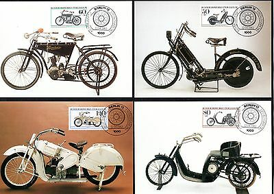 Berlin  - Maxi Cards - Full Set - 'cycles' - Mint - See Scans