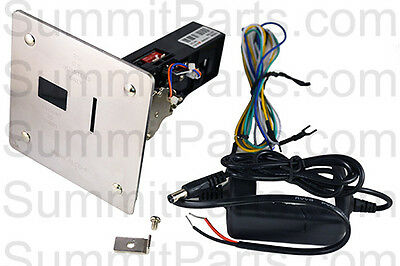 Electronic Coin Drop Acceptor For Huebsch, Sq, And Unimac Electromech Washers