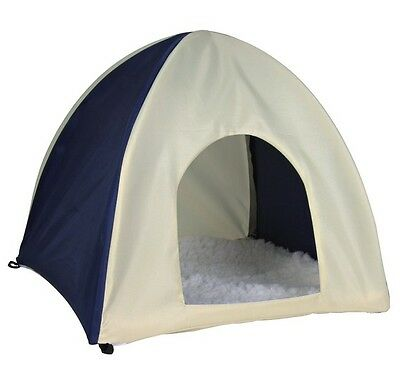 New Trixie - Wigwam  Crunch Hooded Pet Rabbit Tent Bed Large 62683