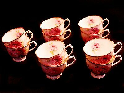 Royal Albert American Beauty Footed Cups (10 available)
