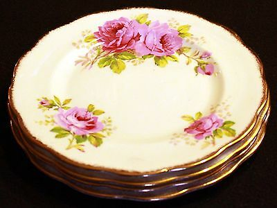 Royal Albert American Beauty Salad Plates (4 available)