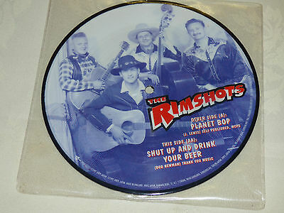 "The Rimshots: Planet Bop, 7"" Picture Disc 1997"