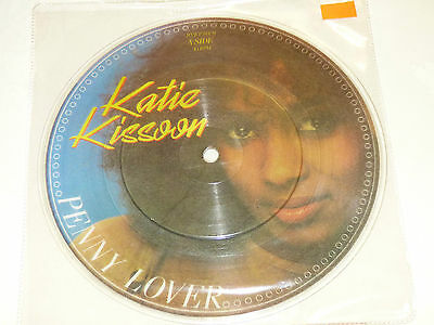 """Katie Kissoon: Penny Lover, 7"""" Picture Disc Single 1984"""