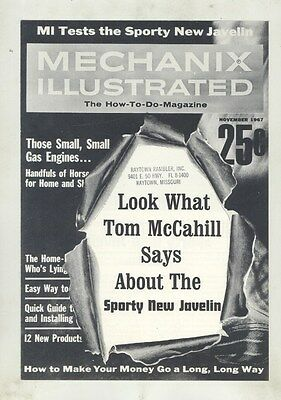1968 AMC Javelin Tom McCahill Roadtest Brochure ww5051