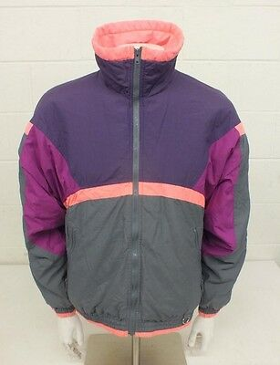 Vintage 1980s Colorado Classics by Gerry Fully Insulated Neon Paneled Jacket M