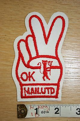 Manchester United FC Patch Badge Rare 1970s
