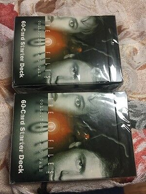 The X-Files Collectible Card Game 60 Card Starter Deck X2