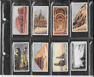 Will's (New Zealand Issue) - Wonders Of The World - 1926 - 8 Cards