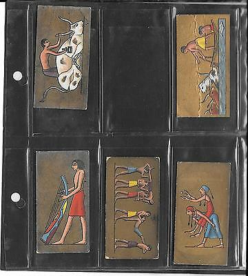 Cavanders - Ancient Egypt - 1928 - 5 Cards