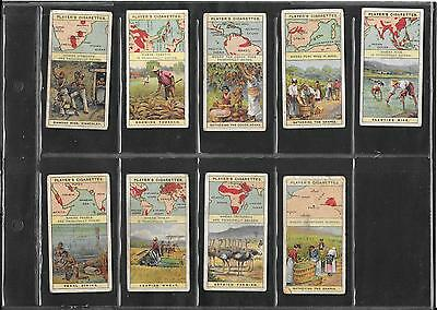 Player's - Products Of The World - 1908 Series -  9 Cards