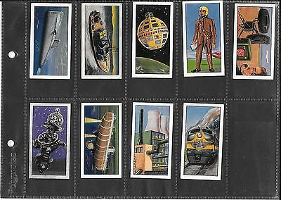Hitchman's Dairies - Science In The 20Th Century - 1966 - 9 Cards - Both End Nos