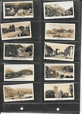 B.a.t. (Anonymous Issue) - Beautiful England - 1928 - 10 Cards - End Number