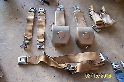 SEAT BELTS 1972 dated mustang mercury ford comet falcon maverick truck