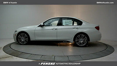 2017 BMW 3-Series 340i 340i 3 Series New 4 dr Sedan Automatic Gasoline 3.0L STRAIGHT 6 Cyl Alpine White