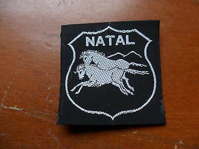 Natal Area South Africa Scout Cloth Badge