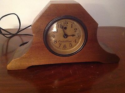 "Vintage Cadillac Electric Alarm Clock 9 1/2"" Long NEEDS REPAIR"