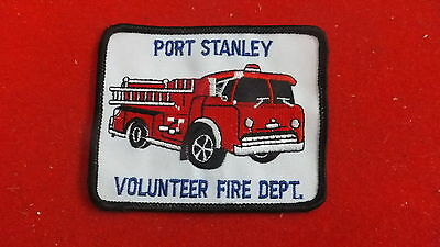 Patch - Fire Dept - Port Stanley      , Ont - Canada