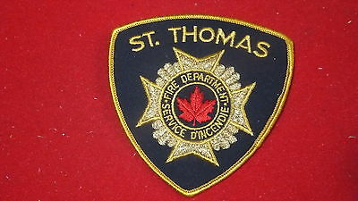 Patch - Fire Dept - St. Thomas     , Ont - Canada   Ver#1