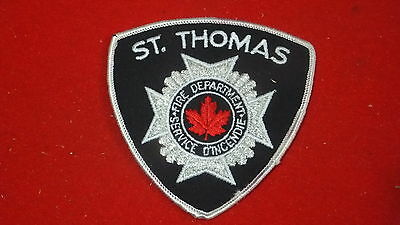 Patch - Fire Dept - St. Thomas     , Ont - Canada   Ver#2