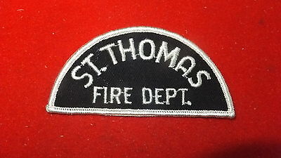 Patch - Fire Dept - St. Thomas Fire Dept     , Ont - Canada   Ver#3