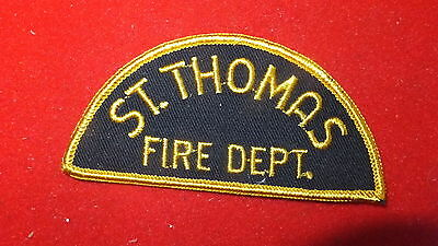 Patch - Fire Dept - St. Thomas Fire Dept     , Ont - Canada   Ver#4