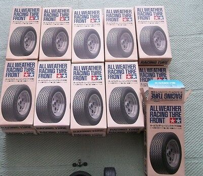 Racing Tire (All Weather) Front *-* Tamiya 1/12 Replacement