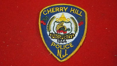"""Police Patch  - Cherry Hill   , New Jersey - US  3"""" x 3.5"""""""
