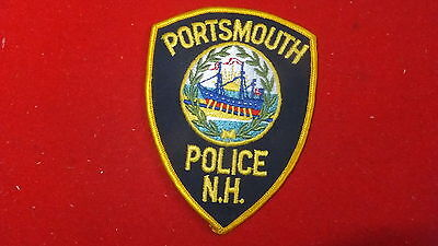 Police Patch  - Portsmouth  , New Hampshire  - US