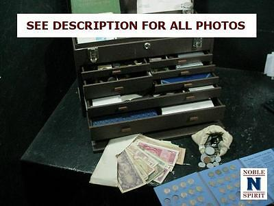 NobleSpirit NO RESERVE Exciting Extremely Valuable Coin Tackle Box Discovery