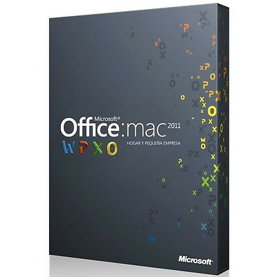 Office 2011 Mac Home and Business - 1 PC