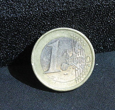 2002 IRELAND 1 EURO  COIN (gVF) IRISH/ EURO COIN